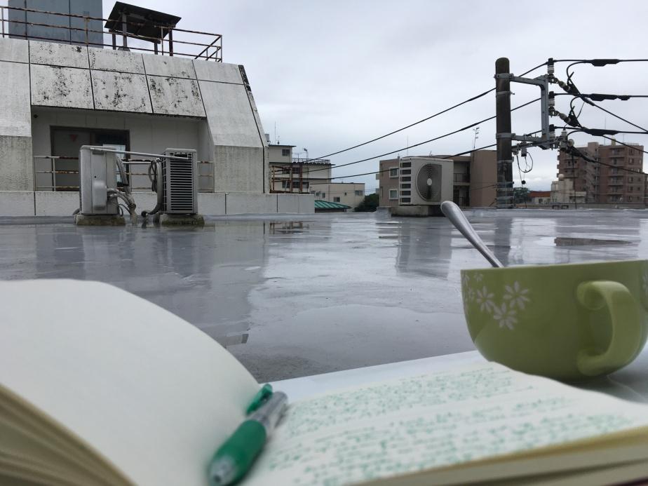 Morning tea andjournaling